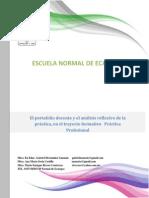 Ponencia_El portafolio docente y el Análisis de la práctica en el Trayecto Practica Profesional