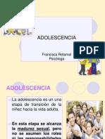 ETAPA ADOLESCENCIA 2012