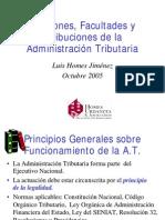 Facultades del Seniat y Fiscalización