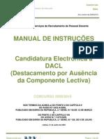 Manual DACL 2009