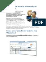Administrar Cuentas de Usuario en Windows 7