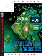 d20 Green Ronin - Mutants and Masterminds - Headquarters
