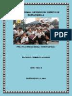 PRÁCTICA PEDAGÓGICA SALVADOR ENTREGAS