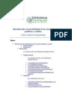 Introduccion a La Metodologia de Las Ciencias Juridicas y Sociales Alchourron y Bulygin