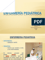 1º clase, Enfermería Pediátrica