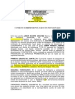 Contrato Prestacion Servicios Abogado Omar Arnedo
