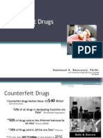 Combating against Counterfeit medication