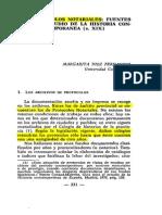 Protocolos notariales como fuente para la historia contemporánea XIX. Margarita Diez