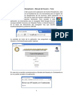 Manual Del Usuario Control Disciplinario Tutores