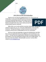 MNSA Scholarship Packet 2013-2014