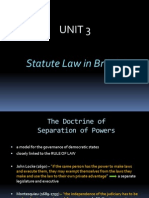 unit 3 statute law in britain
