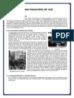 Crisis Financiera 1929