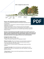 ecological succession activity