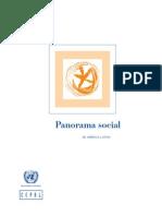 CEPAL Panorama Social de América Latina