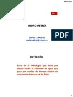 7 - Clase Hidrometría