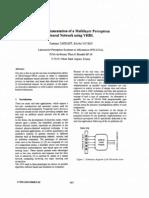 FPGA perceptron