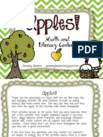 Apples Math and Literacy Centers