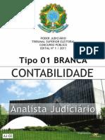 Consulplan 2012 Tse Analista Judiciario Contabilidade Prova