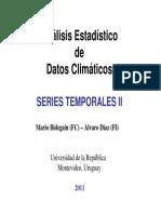 Series Temporales II 2011