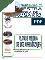 Plan de Mejora Del Rosario 2013