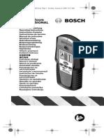 Manual Detector Boshc