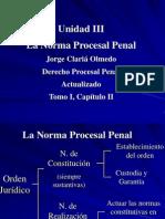Unidad 3 - La Norma Procesal Penal