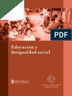 probemas de educación y desigualdad social
