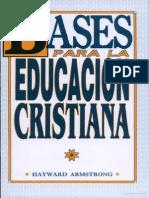 Bases Educacion Cristiana