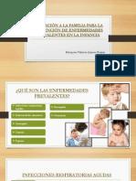 EDUCACIÓN A LA FAMILIA PARA LA PREVENCIÓN DE enfermedades prevalentes