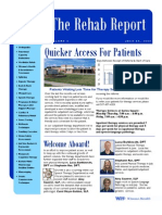 Rehab Report - July 09