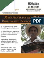 Megaproyectos del BID, desplazamiento y migración forzada