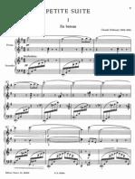 Debussy Petite Suite