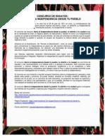 Concurso Independencia Del Peru