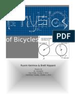 new version physics of bikes