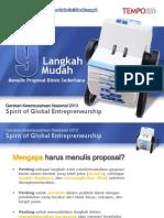 Presentasi Menulis Proposal Bisnis Sederhana 9 langkah.ppt