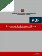 Reporte Indicadores Lideres 102013