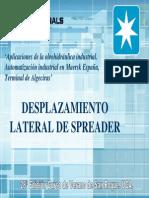 Desplazamiento Lateral Spreader