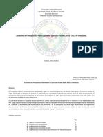 Evolución del Presupuesto Público para los Ejercicios Fiscales 2010 - 2013 en Venezuela..pdf