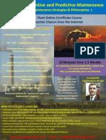 Advanced Preventive and Predictive Maintenance  online Course Brochure.pdf
