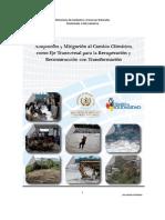 Adaptacion Mitigacion Al Cambio Climatico Eje Transversal
