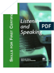 Skills for FCE-Listening and Speaking-SB