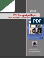 FBI HR Marketing Campaign Report