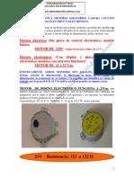 Comparativa Motor Giratorio Microondas