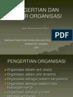 PENGERTIAN DAN UNSUR ORGANISASI.ppt