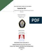 laporan autocad 2D