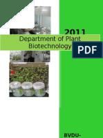 Plant Biotech Dept profile.doc