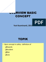 OVERVIEW SAFETY 2 Basic concept of Hazard, Risk, Accident, Loss 2011.ppt