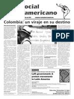 `Foro Social Latinamericano', October 2013 issue