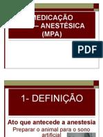 Medicacao Pre Anestesica