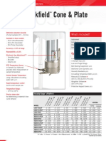 cone and plate rheometer